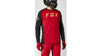 FOX Deffin maillot manches longues hommes Gr.