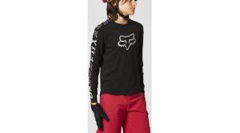 Fox Ranger DR maillot manga larga niños tamaño YS negro