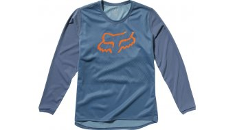 Fox Ranger MTB-Trikot langarm Kinder Gr. L blue steel