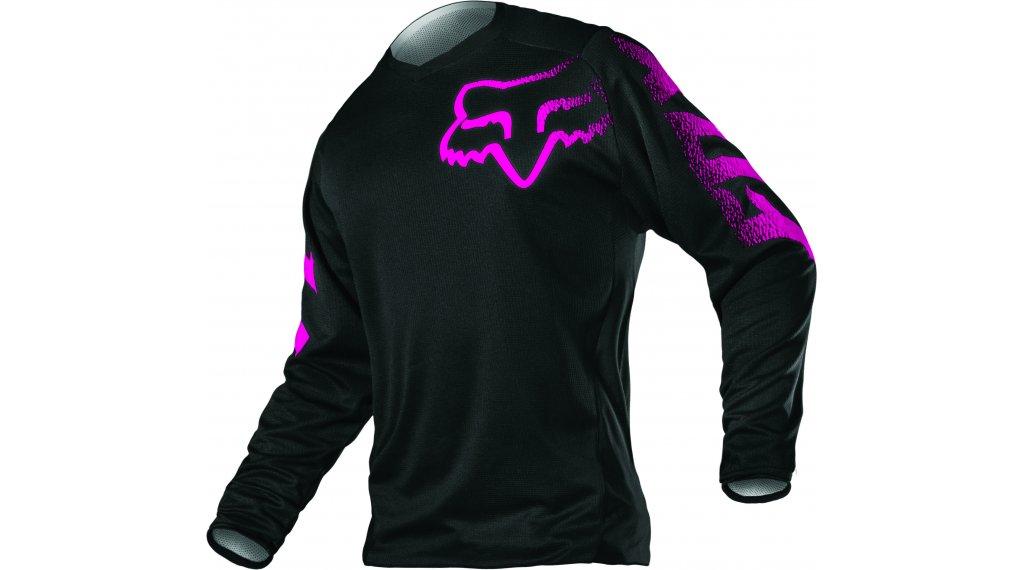Fox Blackout MX-Trikot langarm Damen Gr. S black/pink