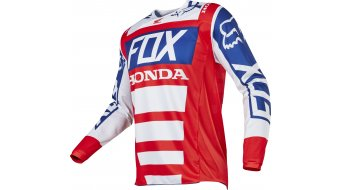 FOX 180 Honda maglietta manica lunga uomini Mx- maglietta . red/white