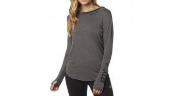 Fox Contoured Trikot langarm Damen-Trikot Hoodie heather grey