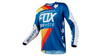 FOX 360 Draftr avec-maillot manches longues hommes taille blue