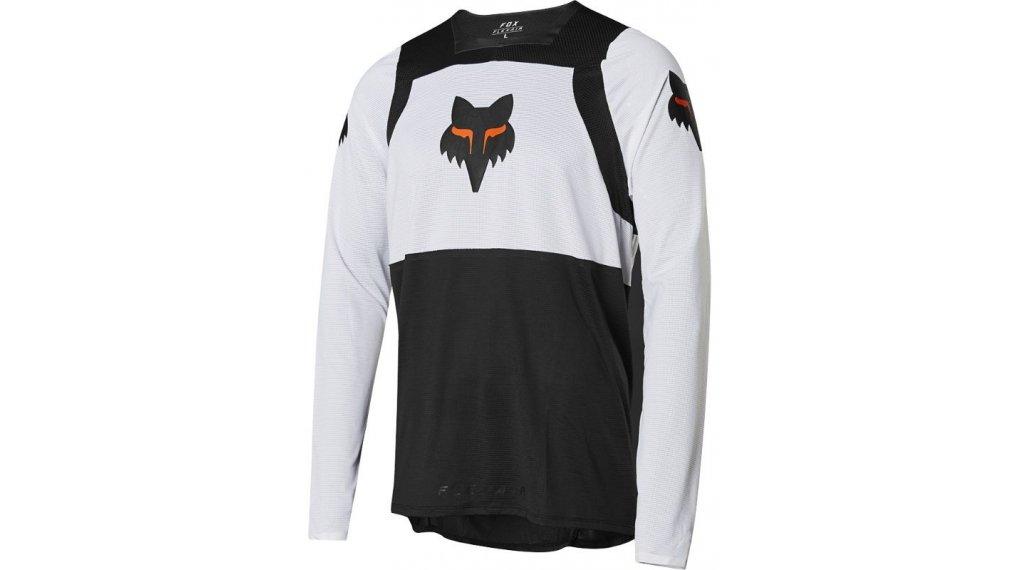FOX Flexair Gothik jersey men long sleeve size S black/white/orange