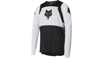 FOX Flexair Gothik jersey men long sleeve black/white/orange