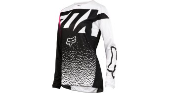 Fox 180 Girls MX maillot manga larga niños negro/pink