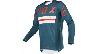 FOX Flexair Preest MTB- jersey long sleeve men Dark Green