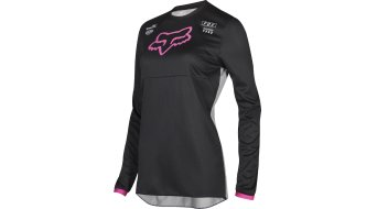 Fox Girls 180 Mata MX-Trikot langarm Damen black-pink