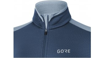 GORE M Thermo Langarmshirt Damen Gr. S (36) deep water blue/cloudy blue
