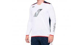 100% R-Core X Limited MTB-Trikot Herren langarm white/navy