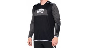 100% R-Core X MTB-Trikot langarm Herren black/white