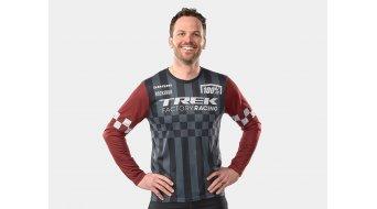 100% Trek Factory Racing Replica Trikot langarm grey/red