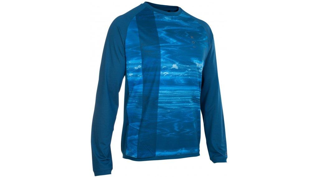 ION Traze AMP Trikot langarm Herren Gr. S (48) ocean blue