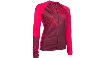 ION Traze AMP Full Zip WMS jersey long sleeve ladies- jersey combat red