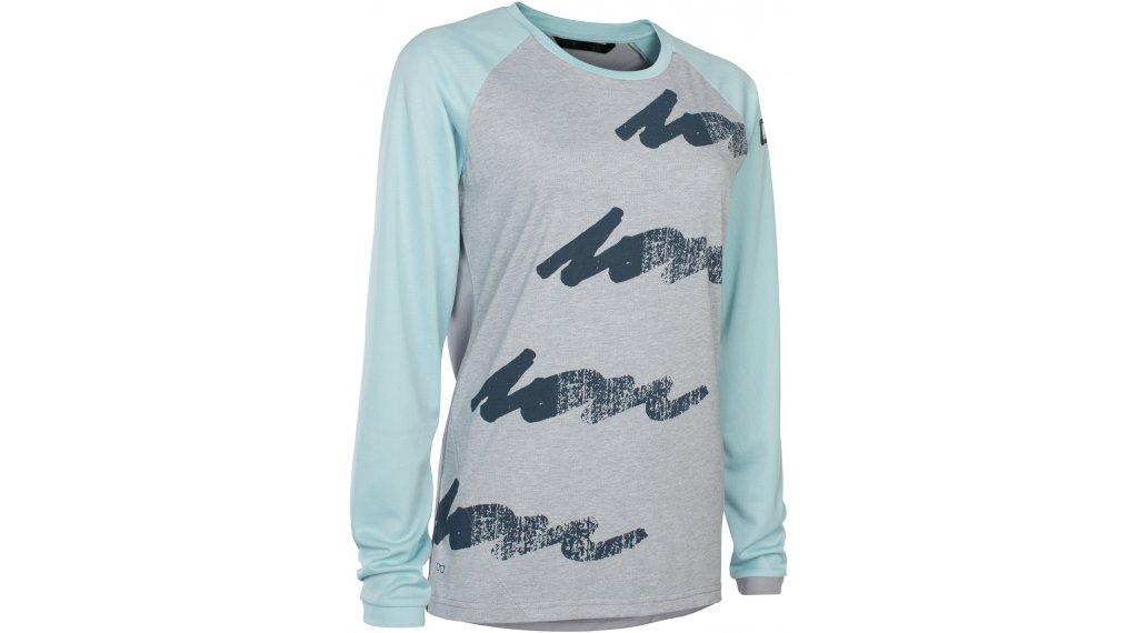 ION Scrub AMP WMS MTB-maillot manga larga Señoras tamaño XS (34) crystal azul