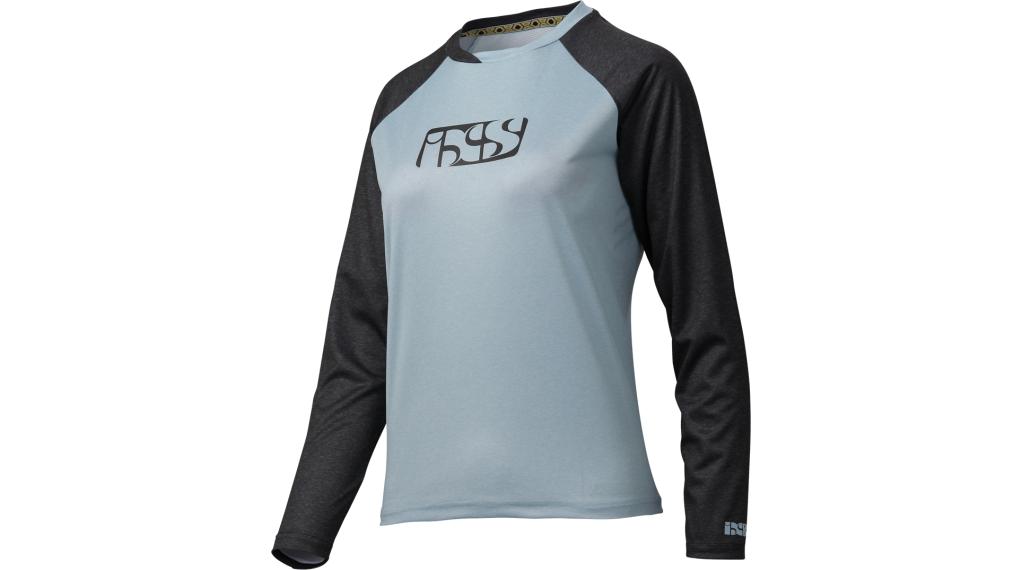 iXS Progressive 7.1 Trail Damen-Trikot langarm Gr. 42 cloud blue/black