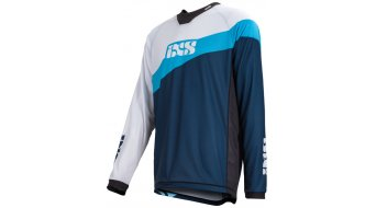 iXS Race 7.1 DH Worldcup-Edition Trikot langarm Herren Gr. S light blue / night blue
