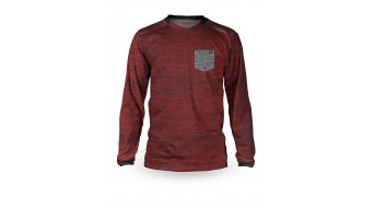 Loose Riders C/S Pocket tricot lange mouw burgundy