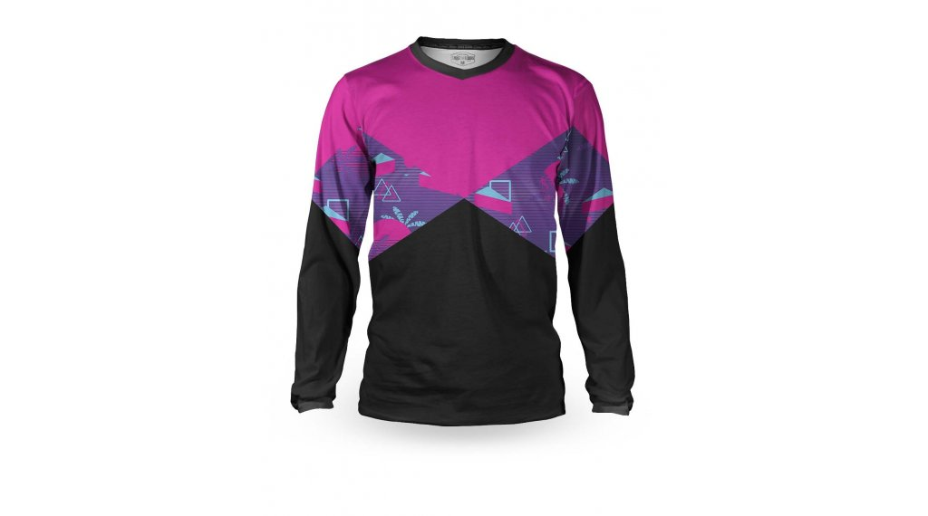 Loose Riders Cult of Shred Party Zone Trikot langarm Gr. XS pink/black