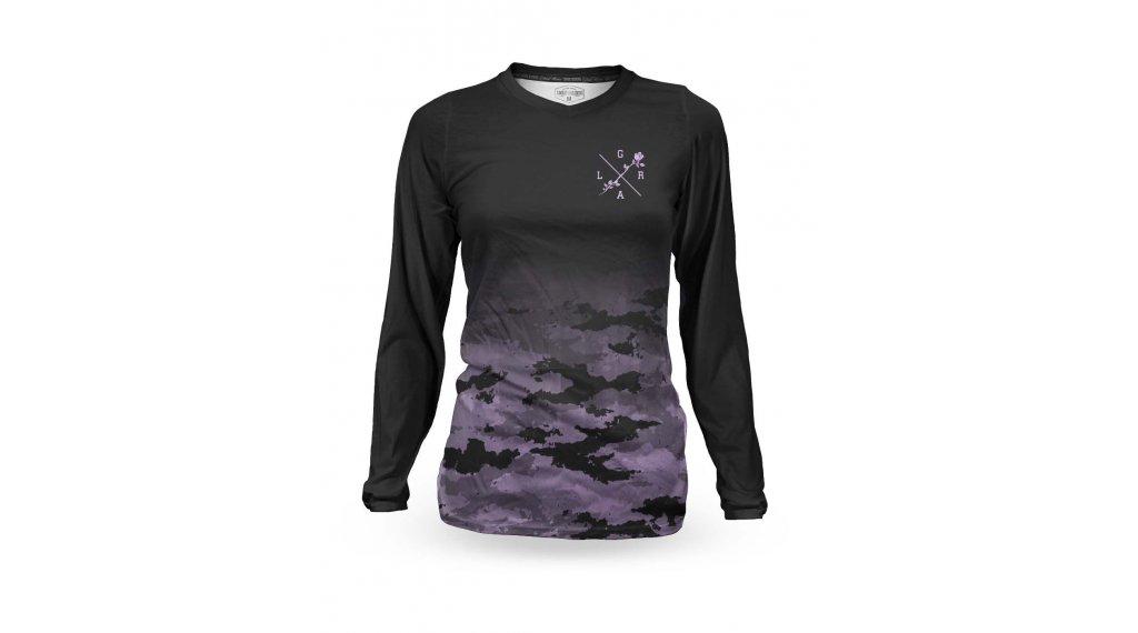 Loose Riders Lilac camo maglietta manica lunga da donna mis. XS purple/camo