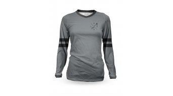Loose Riders Slate Heritage maillot femmes manches longues taille grey/black