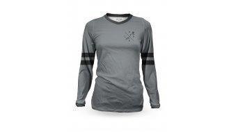 Loose Riders Slate Heritage maglietta da donna manica lunga . grey/black