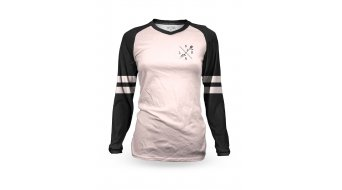 Loose Riders Peach Varsity Trikot Damen langarm rose/black