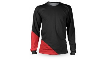 Loose Riders Basic Red maglietta manica lunga unisex . black/red