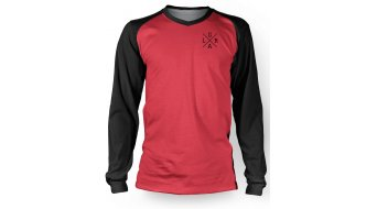 Loose Riders Basic Red Full tricot lange mouw ennisex black/red