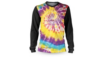 Loose Riders Cult Tie-Dye Trikot langarm unisex black/multicolor