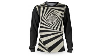 Loose Riders Vertigo Black jersey long sleeve unisex black/white