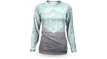 Loose Riders Lotus tricot lange mouw dames maat. M mint/grey