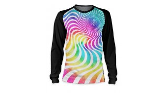 Loose Riders Acid Cult Light maglietta manica lunga . black/multicolor