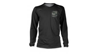 Loose Riders Camo Pocket Trikot Langarm grey/green