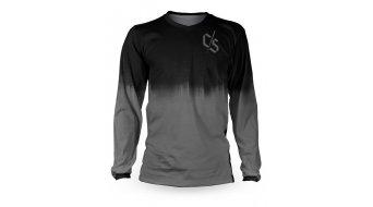 Loose Riders Dipped Grey dres dlouhý rukáv grey/black
