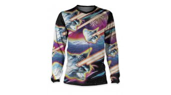 Loose Riders Lazer Cats maglietta manica lunga . black/multicolor
