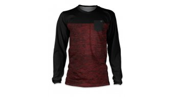 Loose Riders 2 Tone Burgundy Trikot Langarm red/black