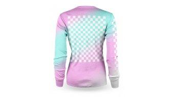 Loose Riders Checkers COLOR Trikot langarm Damen Gr. XS blue/pink