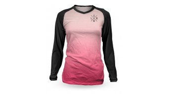 Loose Riders Fuschia tricot lange mouw black/pink