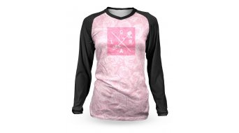 Loose Riders Rose jersey long sleeve black/pink