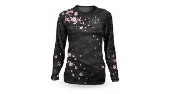 Loose Riders Sakura Black maglietta manica lunga da donna . black