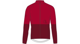 Maloja PushbikersM. 1/1 领骑服 长袖 男士 型号 M red monk- MUSTERKOLLEKTION