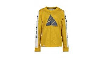 Maloja MoosbachU. dětský dres, dlouhý rukáv Unisex velikost M mustard- Sample