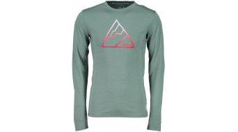 Maloja AarauM. T-shirt long sleeve men size M dark mint- Sample