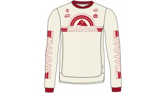 Maloja StronM. jersey long sleeve men size M vintage white- Sample