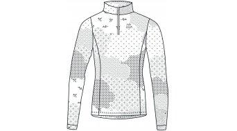 Maloja MottaM. Multisport Jersey Trikot langarm Damen Gr. M snow - SAMPLE