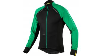 Mavic Cosmic Pro Wind Trikot langarm Herren-Trikot Gr. S black/athletic green x