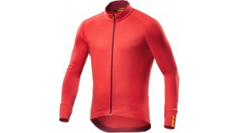 Mavic Aksium Thermo Trikot langarm HerrenTrikot Gr. M racing red