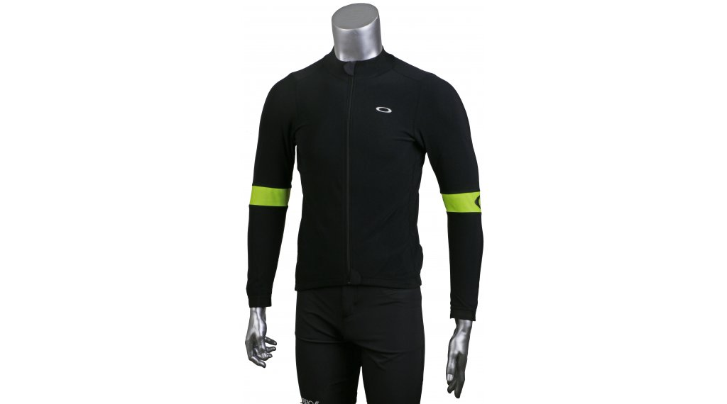 Oakley Thermal Jersey jersey long sleeve size S blackout/hi-vis yellow