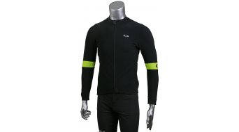 Oakley Thermal Jersey maillot manga larga blackout/hi-vis amarillo